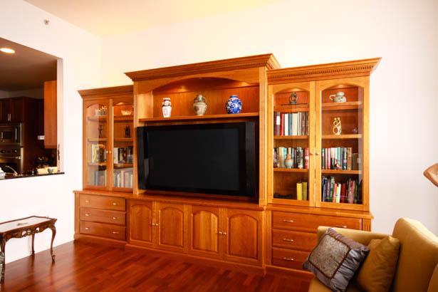 Tv Wall Units Jt Ltd Custom Woodworking